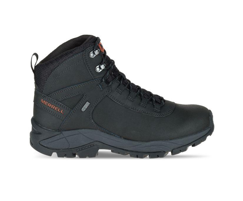 Vego Mid Leather Waterproof, Black, dynamic