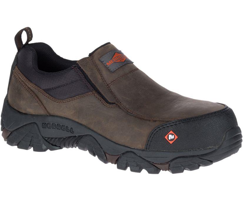 Moab Rover Moc Comp Toe Work Shoe, Espresso, dynamic