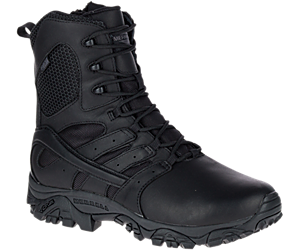 "Moab 2 8"" Tactical Response Waterproof Boot Wide Width, Black, dynamic"