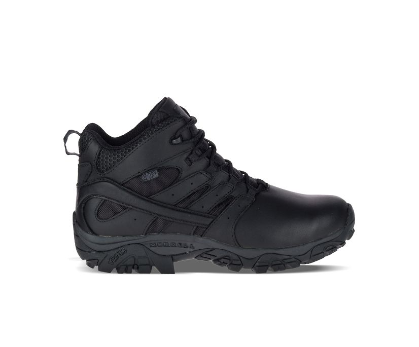 Moab 2 Mid Tactical Response Waterproof Boot Wide Width, Black, dynamic