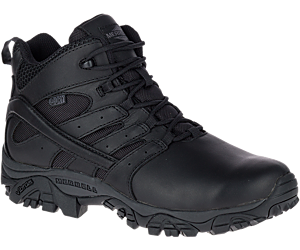 Moab 2 Mid Tactical Response Waterproof Boot, Black, dynamic