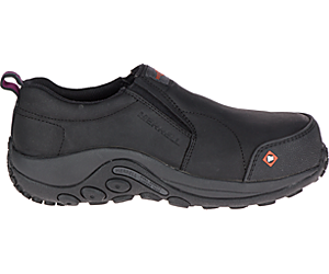 Jungle Moc Composite Toe CSA Work Shoe, Black, dynamic