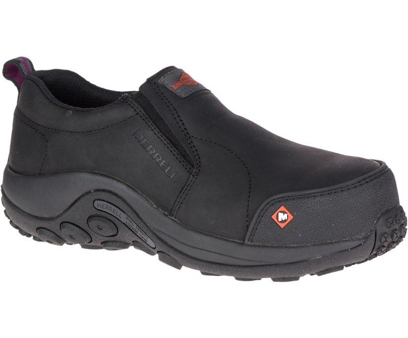 Jungle Moc Composite Toe CSA Work Shoe, Black, dynamic