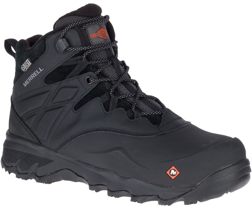 """Thermo Adventure 6"""" Ice+ Waterproof Comp Toe Work Boot, Black, dynamic"""