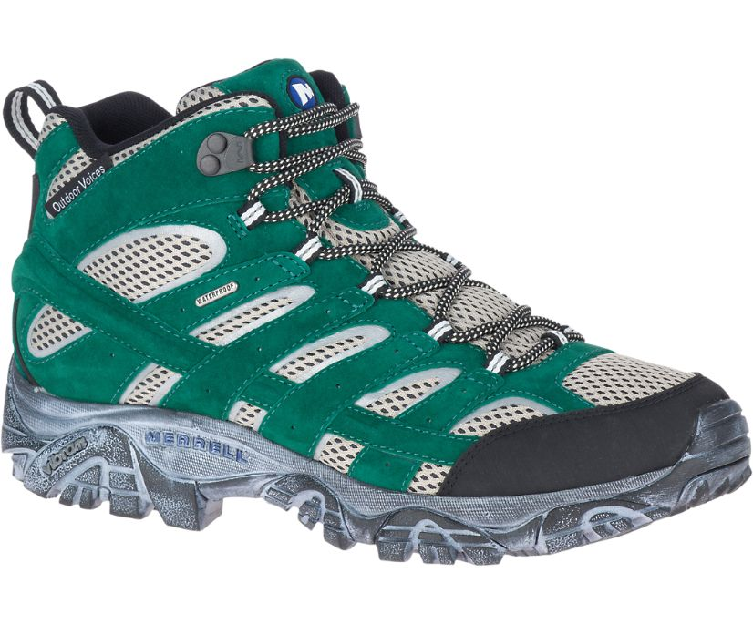 Moab 2 Mid Waterproof X Outdoor Voices, Galapagos, dynamic