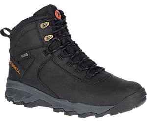 Vigo Thermo Mid Leather Waterproof, Black, dynamic