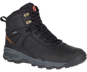 Vigo Thermo Mid Leather Waterproof, Black, dynamic