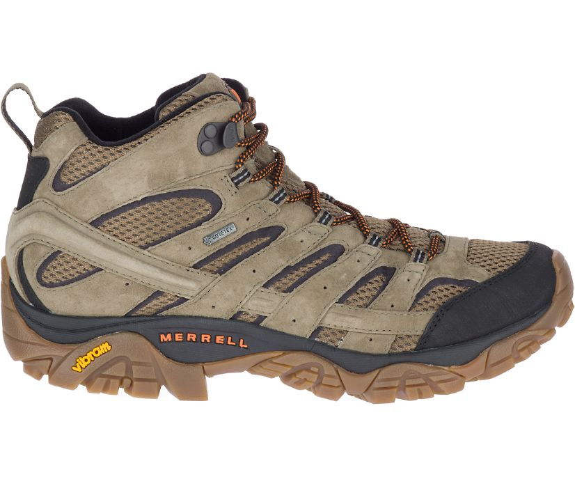 Moab 2 Leather Mid GORE-TEX®, Olive, dynamic