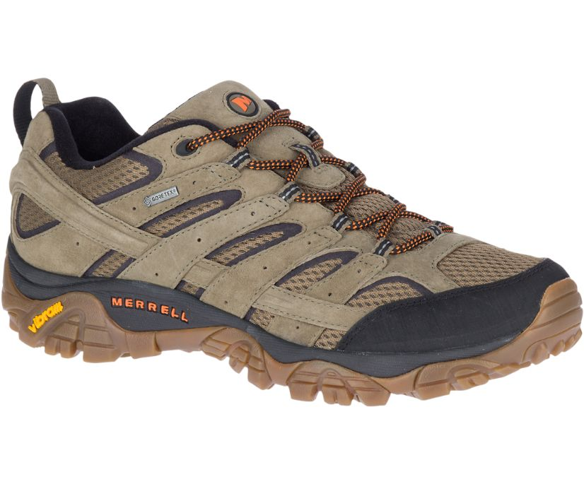 Moab 2 Leather GORE-TEX®, Olive, dynamic
