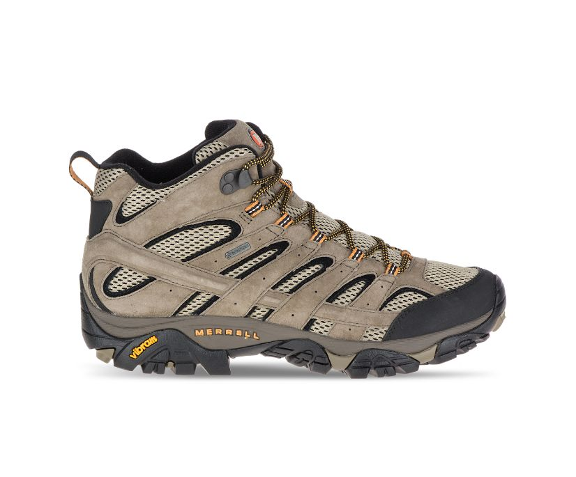 Moab 2 Leather Mid GORE-TEX®, Pecan, dynamic