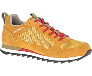 Alpine Sneaker, Gold, dynamic
