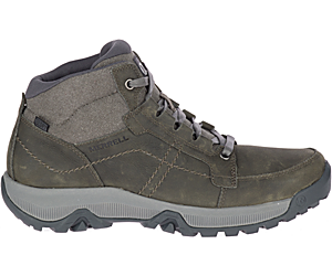 Anvik Pace Mid Waterproof, Charcoal Grey, dynamic