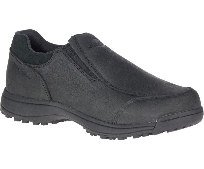 Sutton Moc AC+ PRO Work Shoe, Black, dynamic