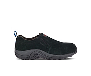 Jungle Moc Alloy Toe Work Shoe Wide Width, Black, dynamic