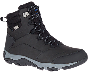 Thermo Fractal Mid Waterproof, Black, dynamic