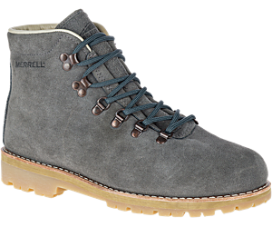 Wilderness USA Suede, Steel Grey, dynamic