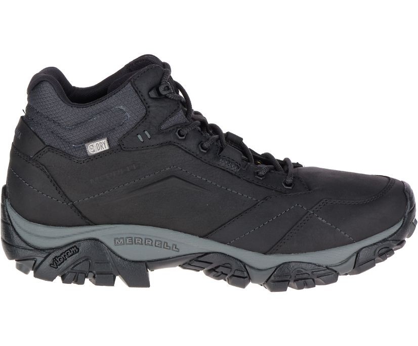 Moab Adventure Mid Waterproof, Black, dynamic