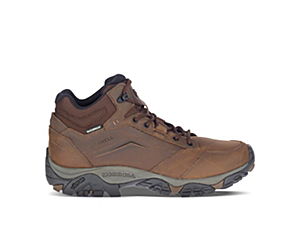 Moab Adventure Mid Waterproof Wide Width, Dark Earth, dynamic