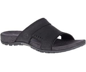 Sandspur Lee Slide, Black, dynamic