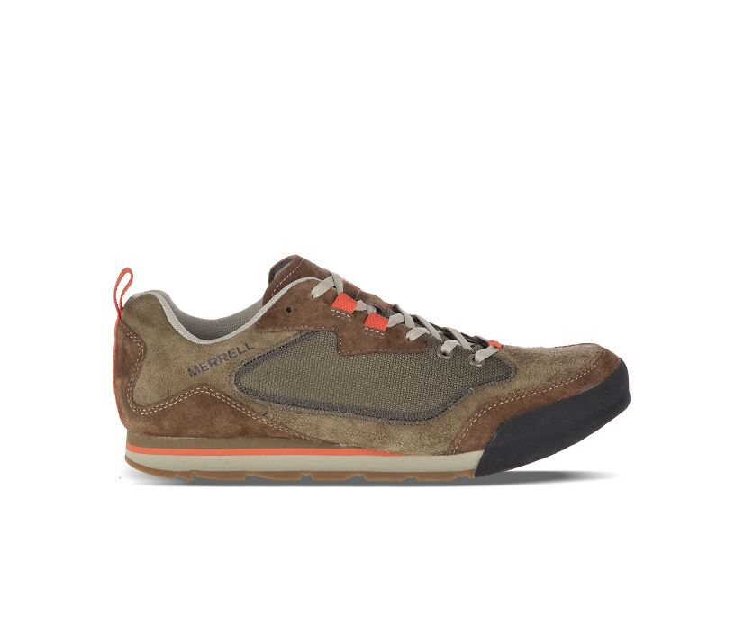 Burnt Rock Travel Suede, Dusty Olive, dynamic