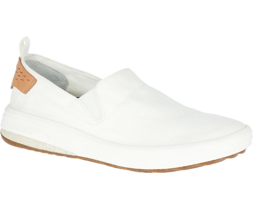 Gridway Moc Canvas, White, dynamic