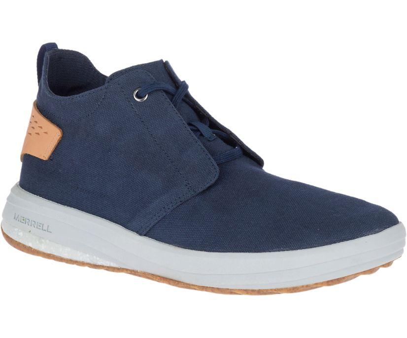 Gridway Mid Canvas, Navy, dynamic
