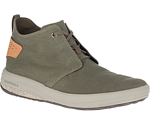 Gridway Mid Canvas, Olive, dynamic