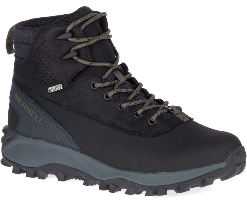 Thermo Kiruna Mid Shell Waterproof, Black, dynamic