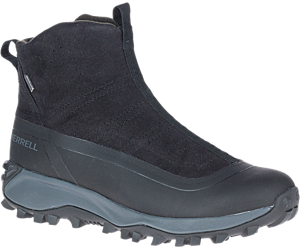 Thermo Snowdrift Zip Mid Shell, Black, dynamic