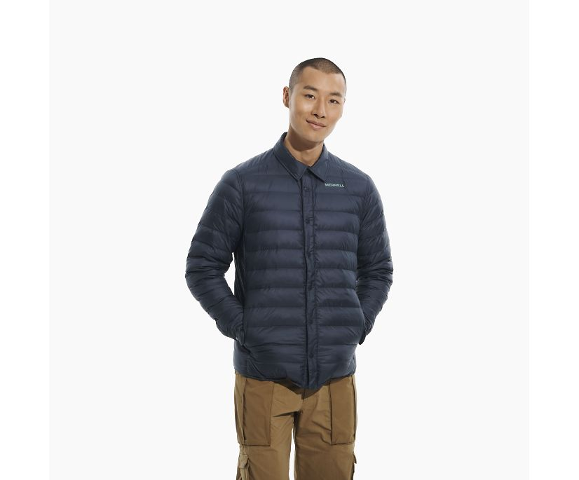 Ridgevent Thermo Shirt Jacket, Navy, dynamic