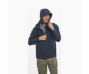 Whisper Rain Jacket, Navy, dynamic
