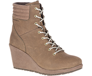 Tremblant Wedge Boot Waterproof, Stone, dynamic