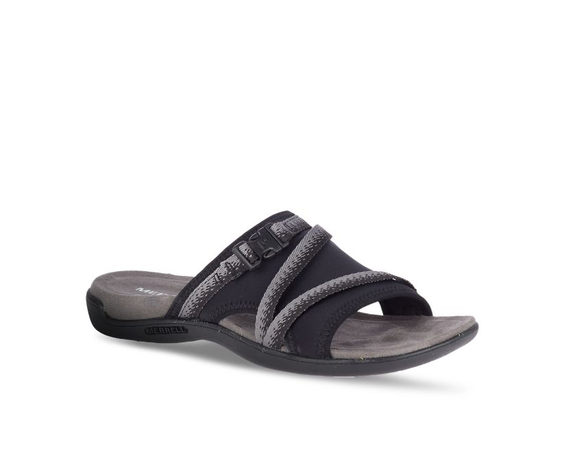 District Muri Slide, Black/Charcoal, dynamic