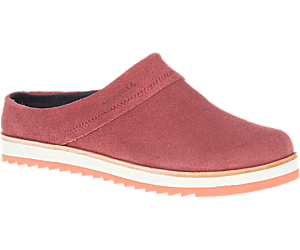 Juno Clog Suede, Sable, dynamic
