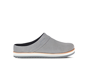 Juno Clog Suede, Charcoal, dynamic
