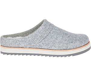 Juno Clog Wool, Charcoal, dynamic