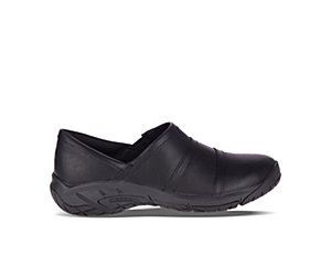 Encore Moc 4 Leather Wide Width, Black, dynamic