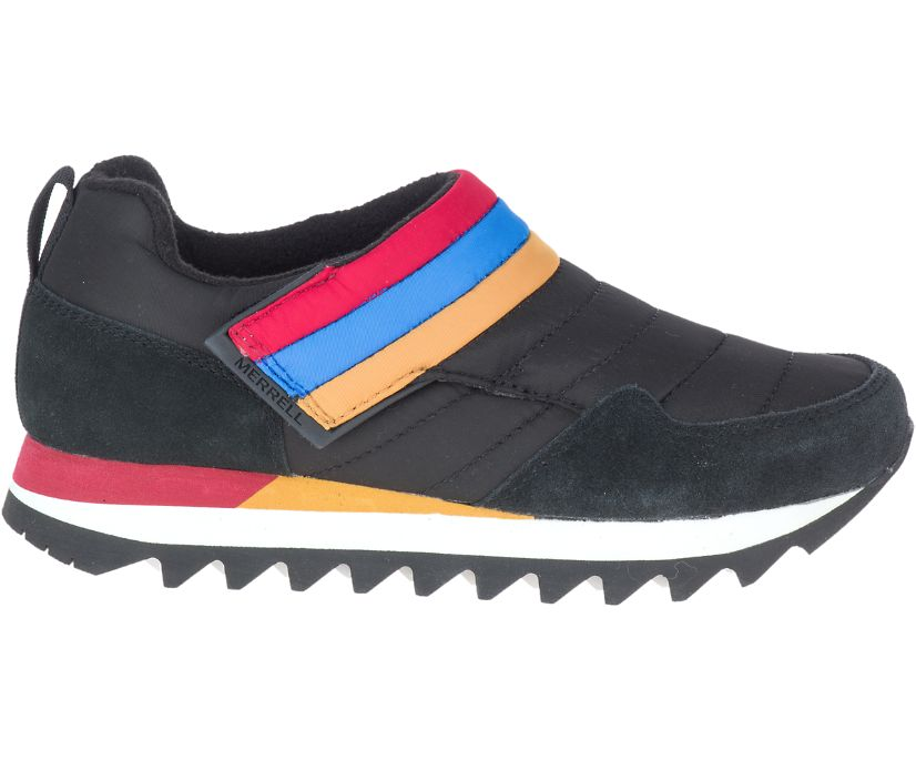 Alpine Moc Strap Polar, Retro Black, dynamic