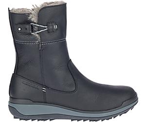 Snowcreek Pull On Polar Waterproof, Black, dynamic