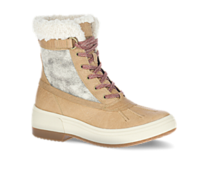 Haven Mid Lace Polar Waterproof, Camel, dynamic
