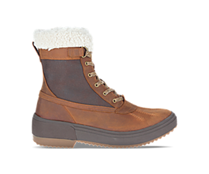 Haven Mid Lace Polar Waterproof, Oak, dynamic