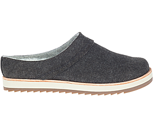 Juno Clog Wool, Black, dynamic