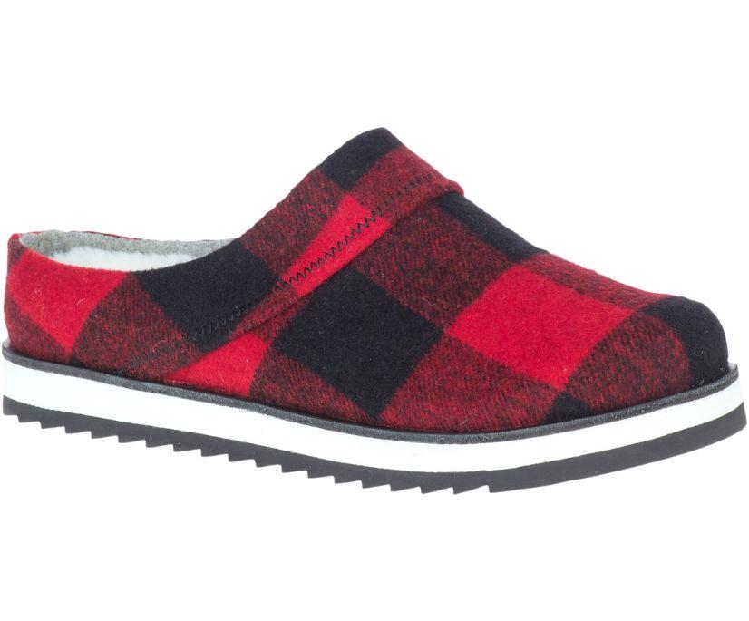 Juno Clog Wool, Buffalo Check, dynamic