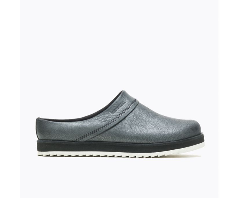 Juno Clog Leather, Metallic, dynamic