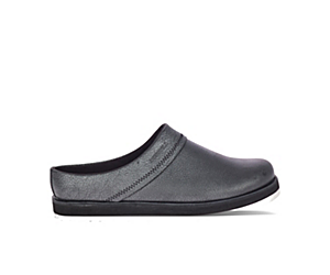 Juno Clog Leather, Metallic, dynamic