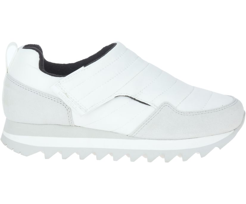 Alpine Moc Strap Polar, White, dynamic