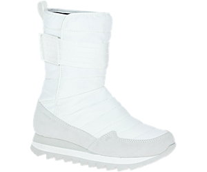 Alpine Tall Strap Polar Waterproof, White, dynamic