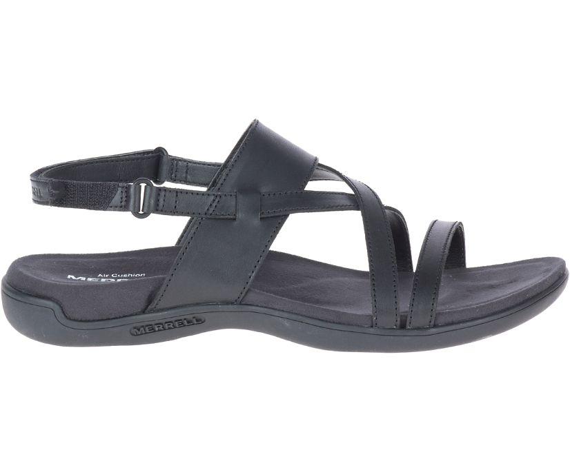 District Hayes Strap Leather, Black, dynamic