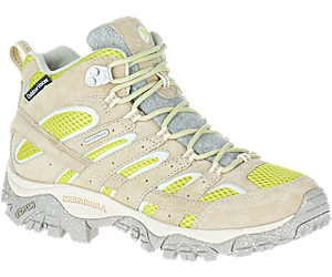Moab 2 Mid Eco Waterproof X Outdoor Voices, Limestone, dynamic