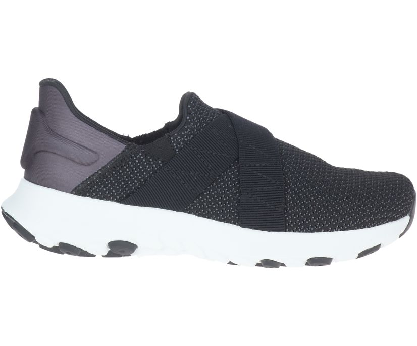 Merrell Cloud Cross Knit, Black/White, dynamic